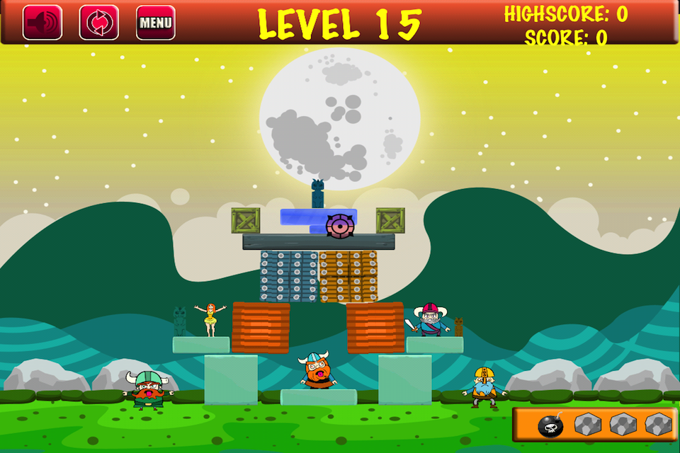 Screenshot Viking Menace Lite